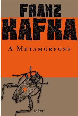 Livro: A metamorfose. Imagem: Internet.