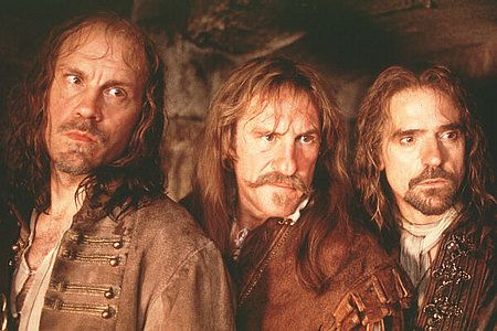 Os três mosqueteiros. Imagem: Pinterest.