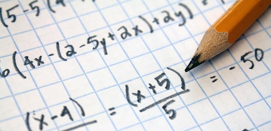 Aula de matemática. Imagem: Internet.