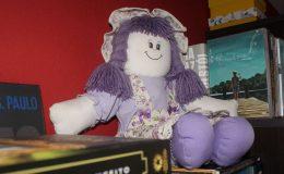 Minha boneca Isabel, tão especial quanto meus livros. Foto: Juh Oliveira