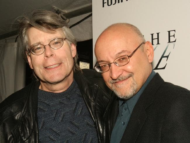Foto Stephen King-frank e Frank Darabont. Imagem: Divulgação.