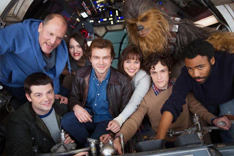 Elenco e direção do filme spin-off de Han Solo. Crédito imagem: http://br.starwars.com.