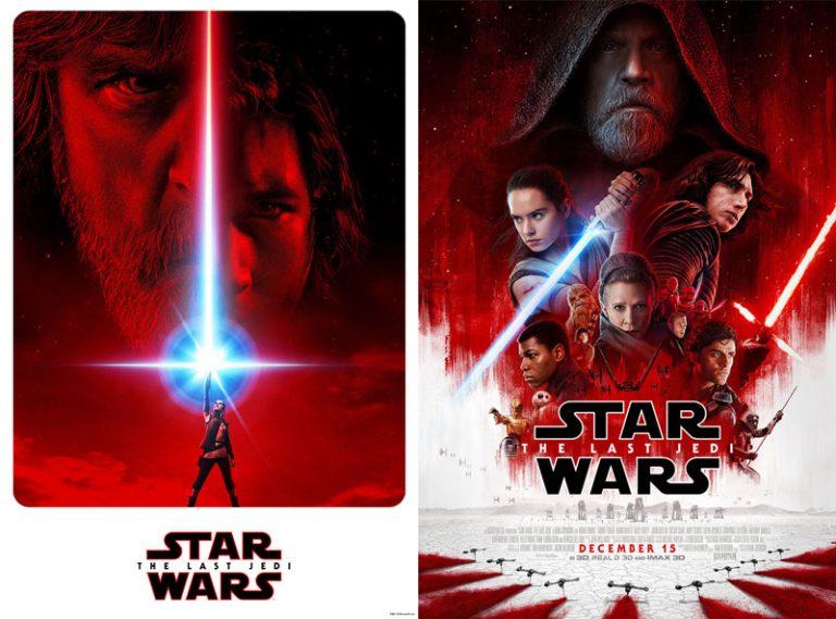 Novos pôsteres de Star Wars: Episódio VIII – Os Últimos Jedi. Crédito imagem: http://br.starwars.com.