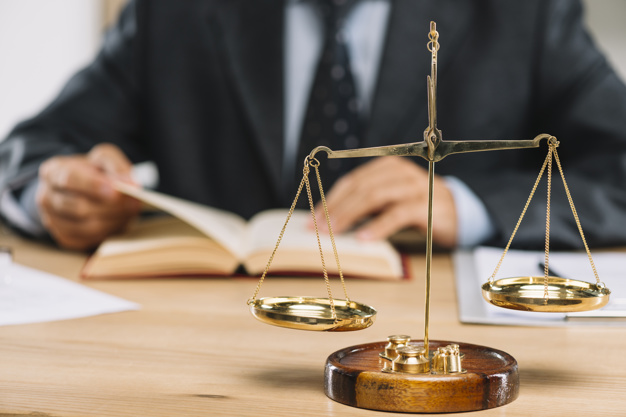 Símbolo da justiça. Imagem: Free Pik.