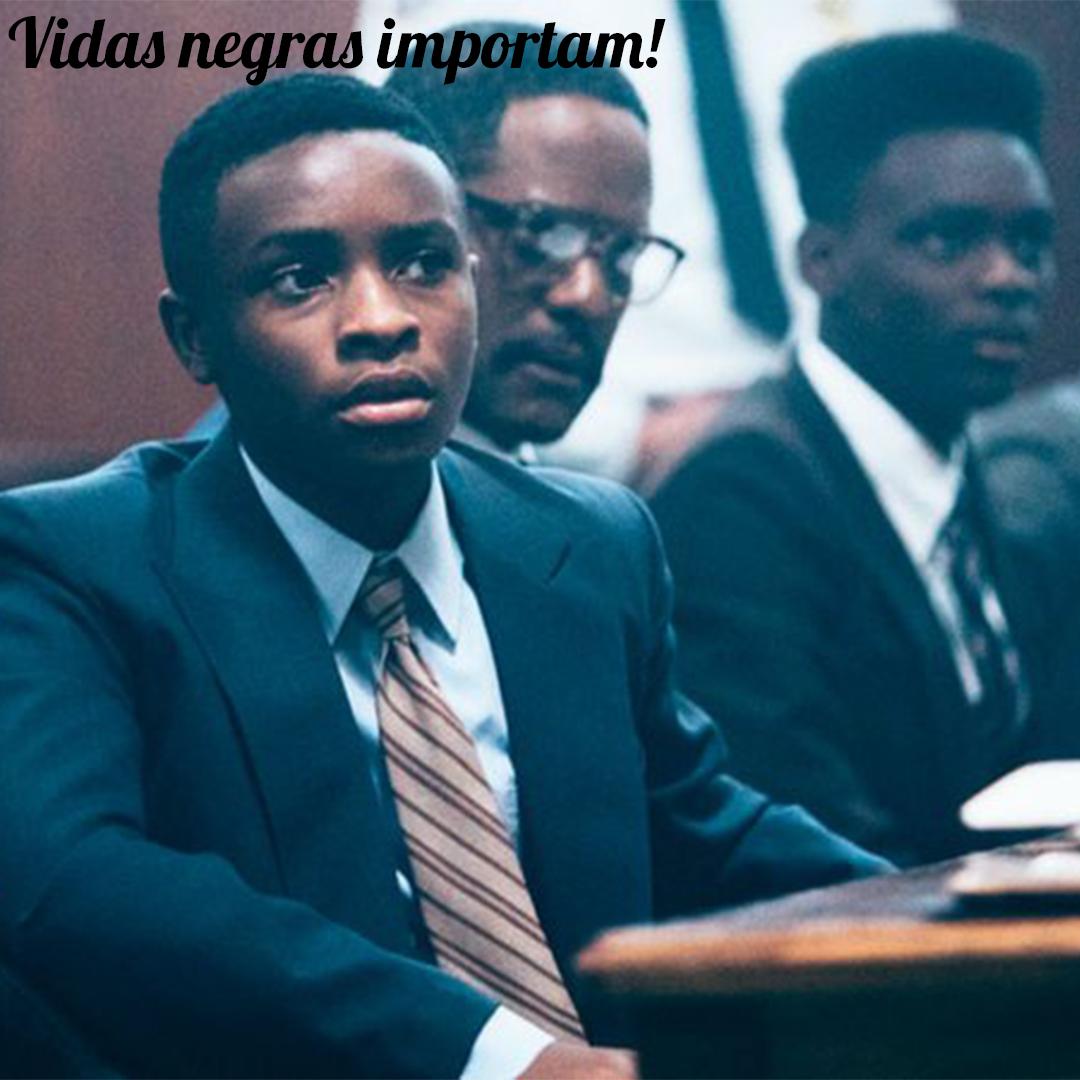 """Vidas negras importam! Indicação da série """"Olhos que condenam"""""""